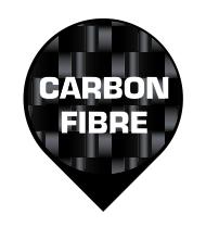 CONSTRUIDO EN FIBRA DE CARBONO Y ARAMIDA