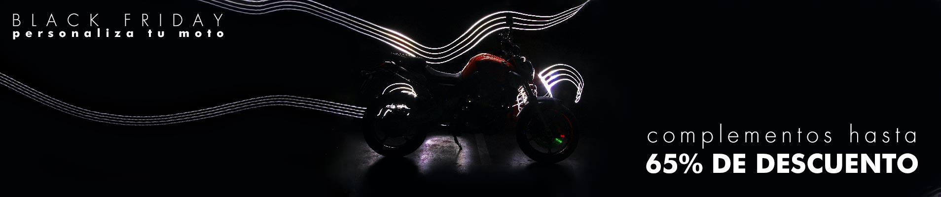 Black friday accesorios para moto