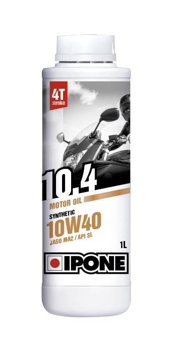 Aceite de motor Semi-Sintético para moto 4T Ipone 10W40