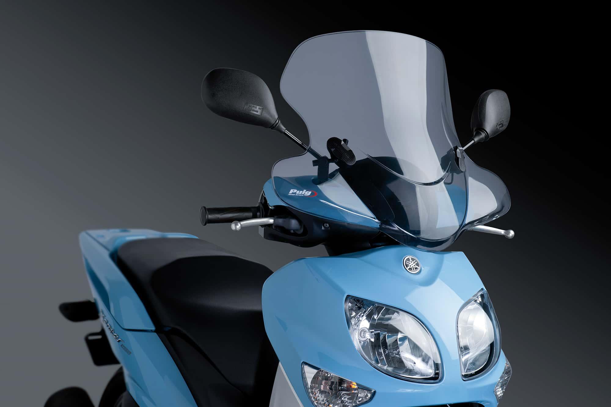 Cúpula Puig City Touring ahumado 0200 para moto DERBI GP1 / PREDATOR