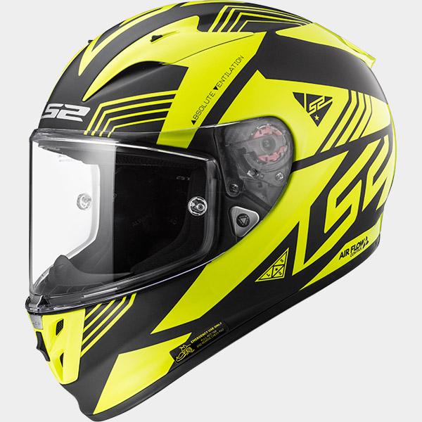 Casco integral LS2 Arrow R EVO Neon Amarillo/Negro