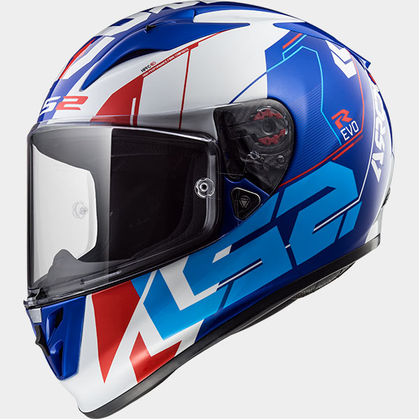Casco integral LS2 Arrow R EVO Techno Azul/Blanco