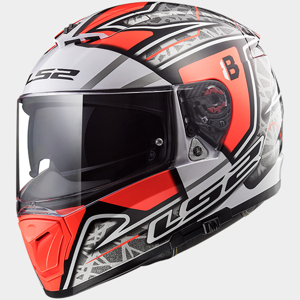 Casco integral LS2 Breaker Replica Hector Barbera
