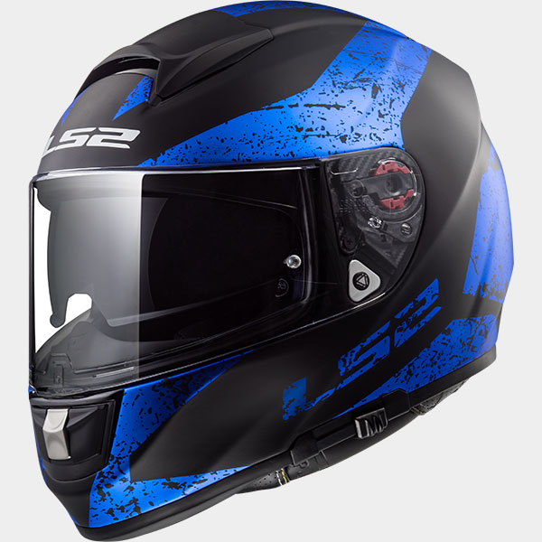 Casco integral LS2 Vector Sign Azul/Negro