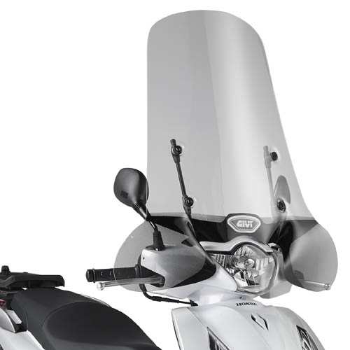 Cúpula transparente Givi 1117A Para moto Honda SH 125i - 150i ABS 2012-19