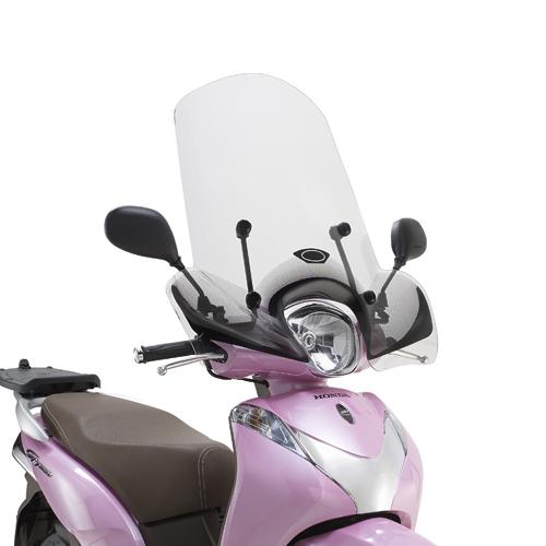 Cúpula transparente Givi 1125A para moto Honda SH Mode 125 13>