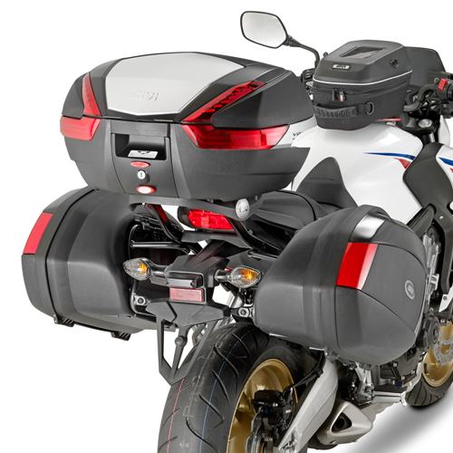 Soporte de baúl trasero Givi 1137FZ para moto Honda CB 650F / CBR 650F 2014>