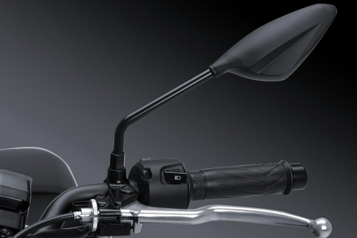 M10 rosca Universal Espejo Retrovisor Pareja Moto Aprilia and Buell Motorcycle