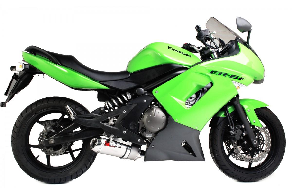 Escape homologado Scorpion para Kawasaki ER6 N/F 06-11
