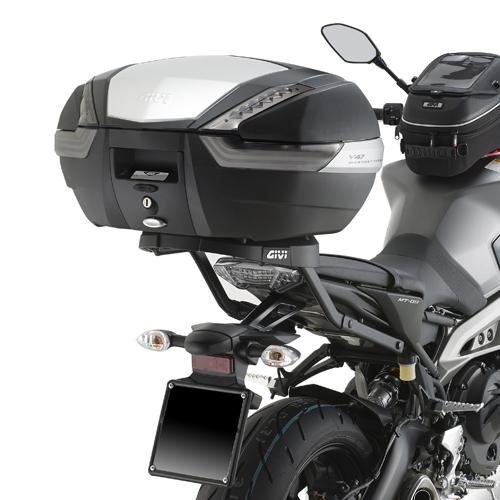 Soporte de baúl trasero Givi 2115FZ para moto Yamaha MT09 2013> y Yamaha XSR 900 2016>