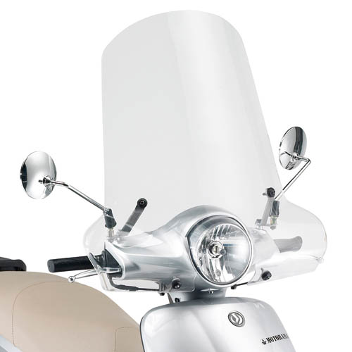 Cúpula transparente Givi 293A Para moto SYM Fiddle II 50-125 2009-2014