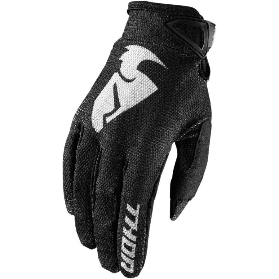 Guantes cross Sector Thor Negro