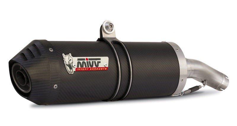 Escape homologado Mivv Oval Carbono para Kawasaki Z 750 R 11-14