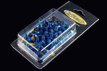 Kit tornillería carenado Lightech para Triumph Street Triple 675 13-14 (40 piezas)