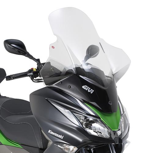 Cúpula Givi 4111DT para moto Kawasaki J300 2014> y Kawasaki J125 2016