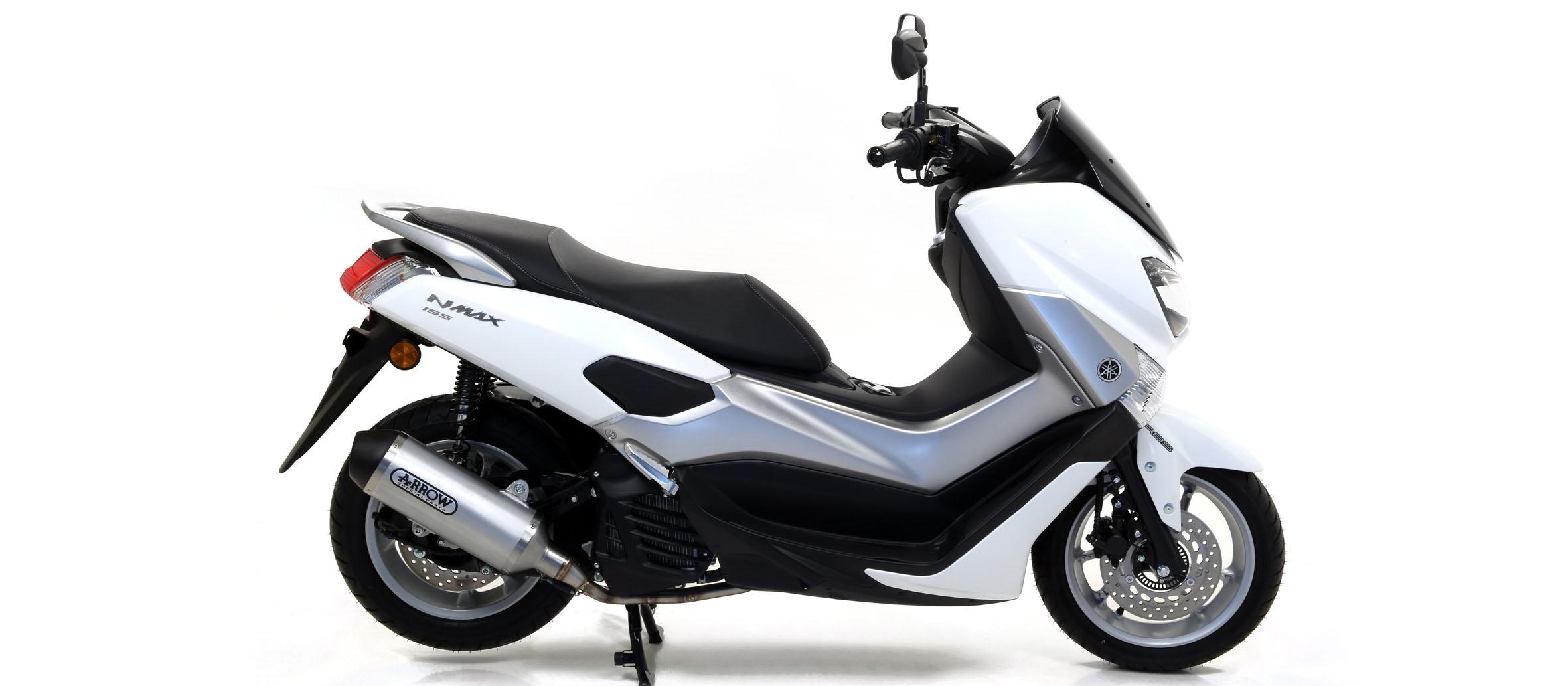 Escape Arrow aluminio para Yamaha NMax 125 17>