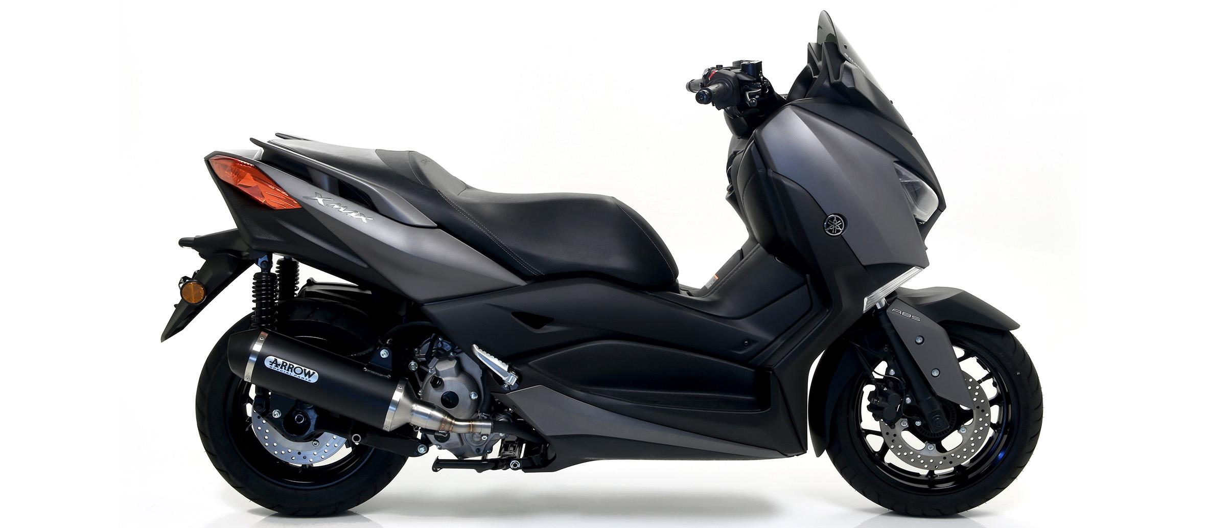 Escape Arrow aluminio negro para Yamaha NMax 125 17>