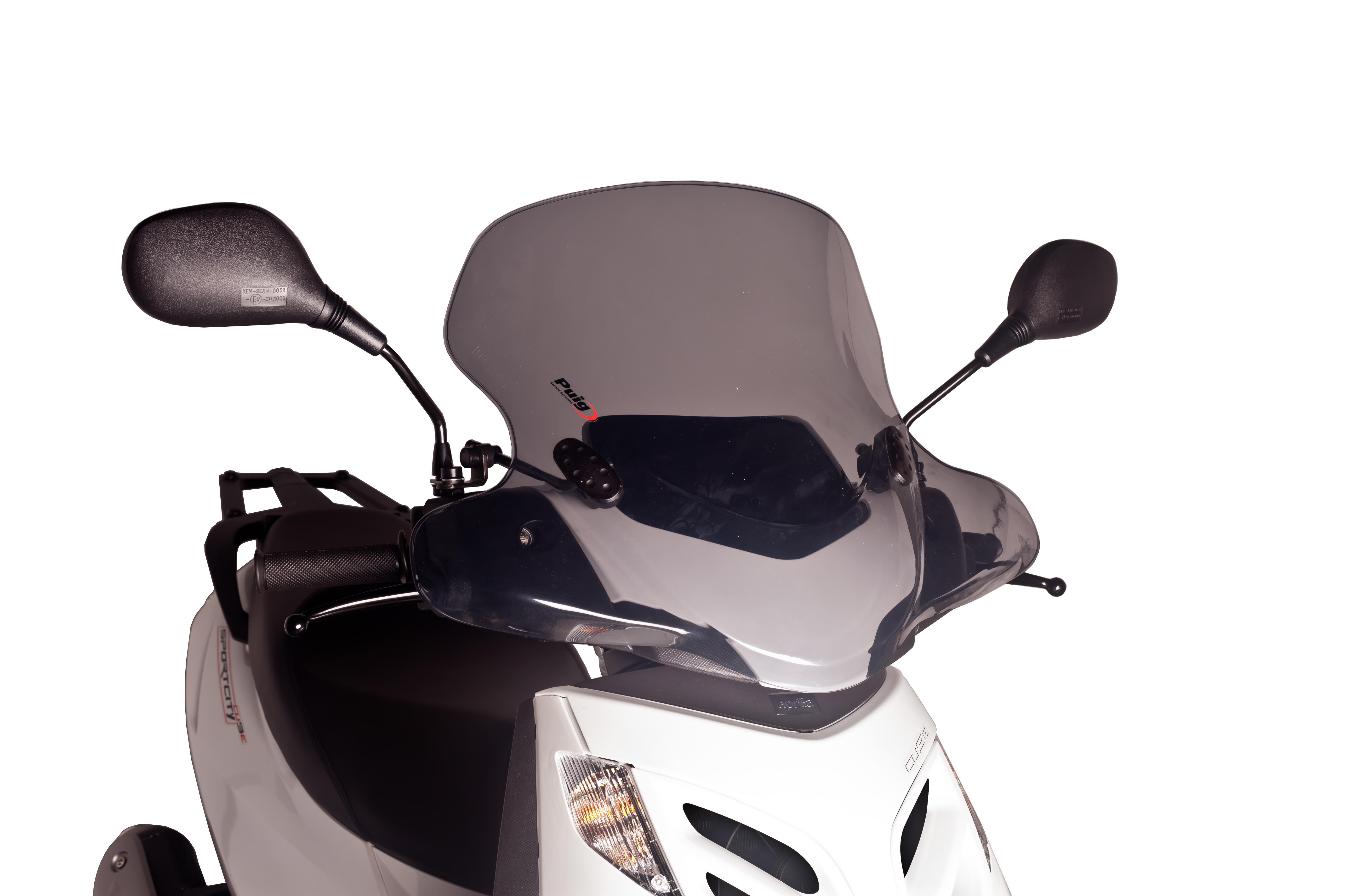 Cúpula Puig City Touring ahumado 6025 para moto APRILIA SPORTCITY CUBE 125/300 08-13