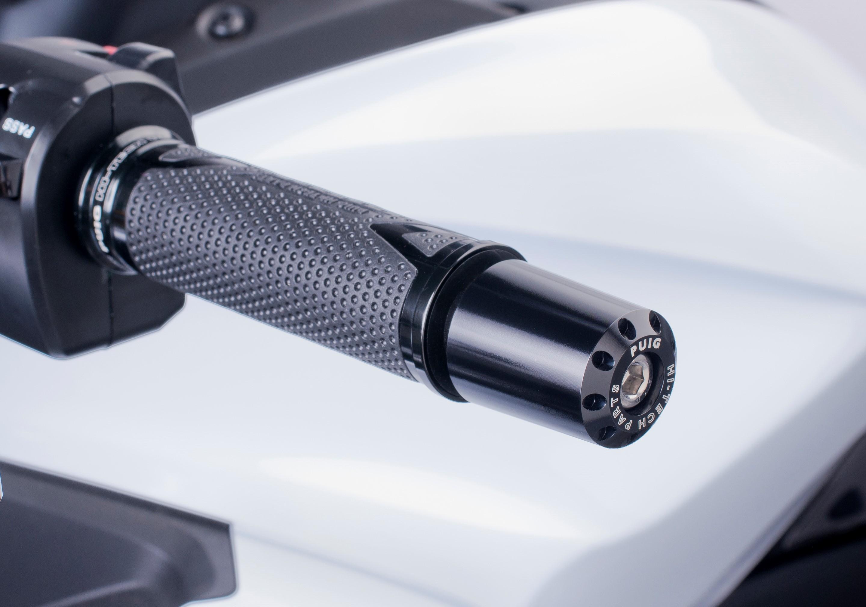 Contrapesos manillar modelo largo Puig 6281 para APRILIA Shiver 700 07-16 / Shiver 900 17