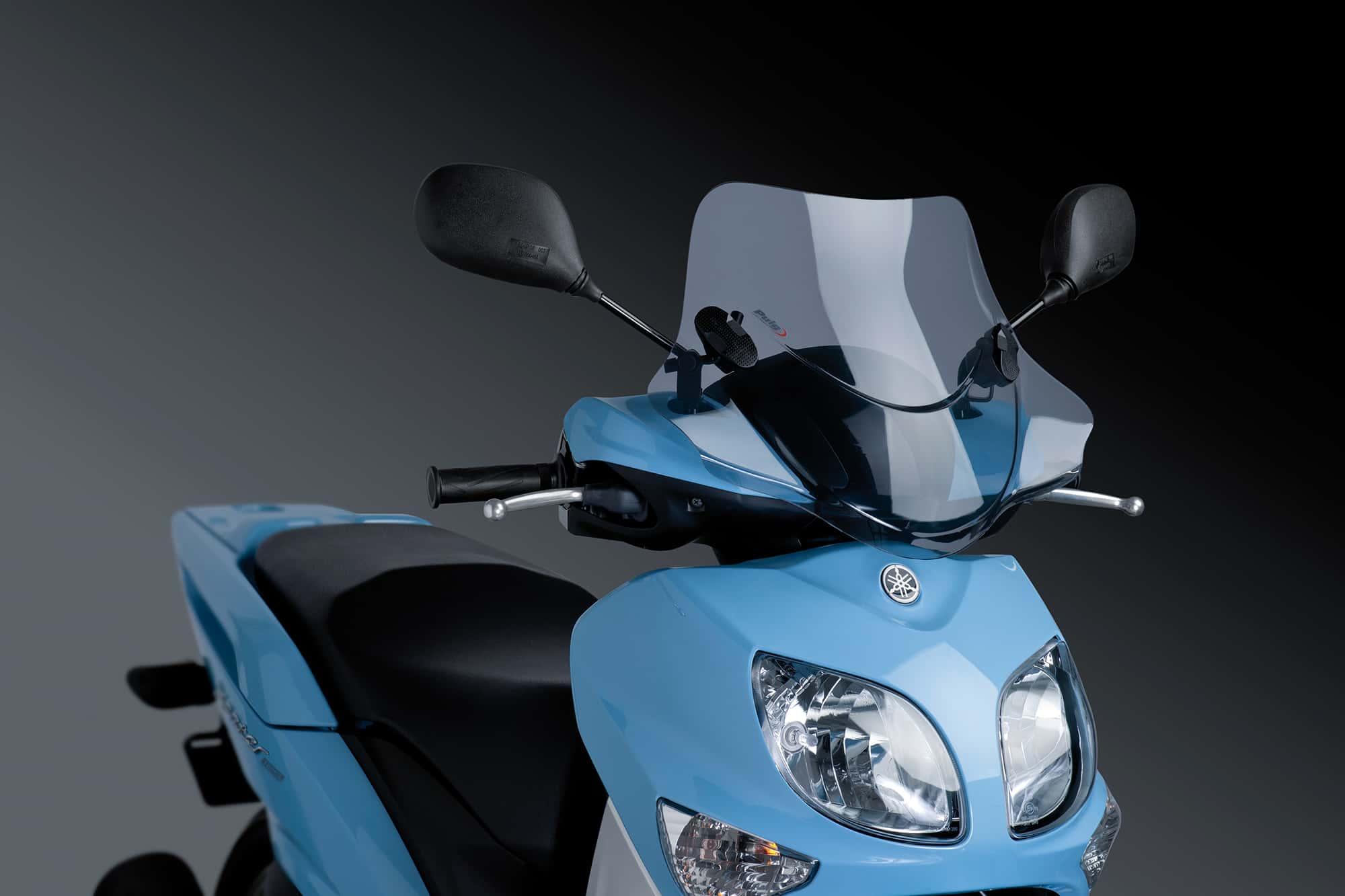 Cúpula Puig City Sport ahumado 6369 para moto SYM HD2 125/200i