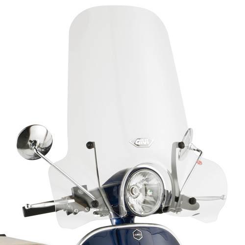 Cúpula transparente Givi 642A Para moto Piaggio Vespa PX 125 / 150 11> / LML Star 125 / 150 09>