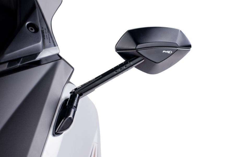 Espejo retrovisor derecho puig 6759 para moto yamaha t max for Espejo retrovisor derecho