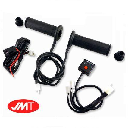 Puños calefactables para moto JMT