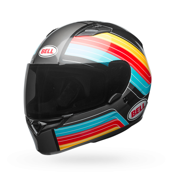 Casco integral Bell Qualifier Command Azul/Rojo/Amarillo
