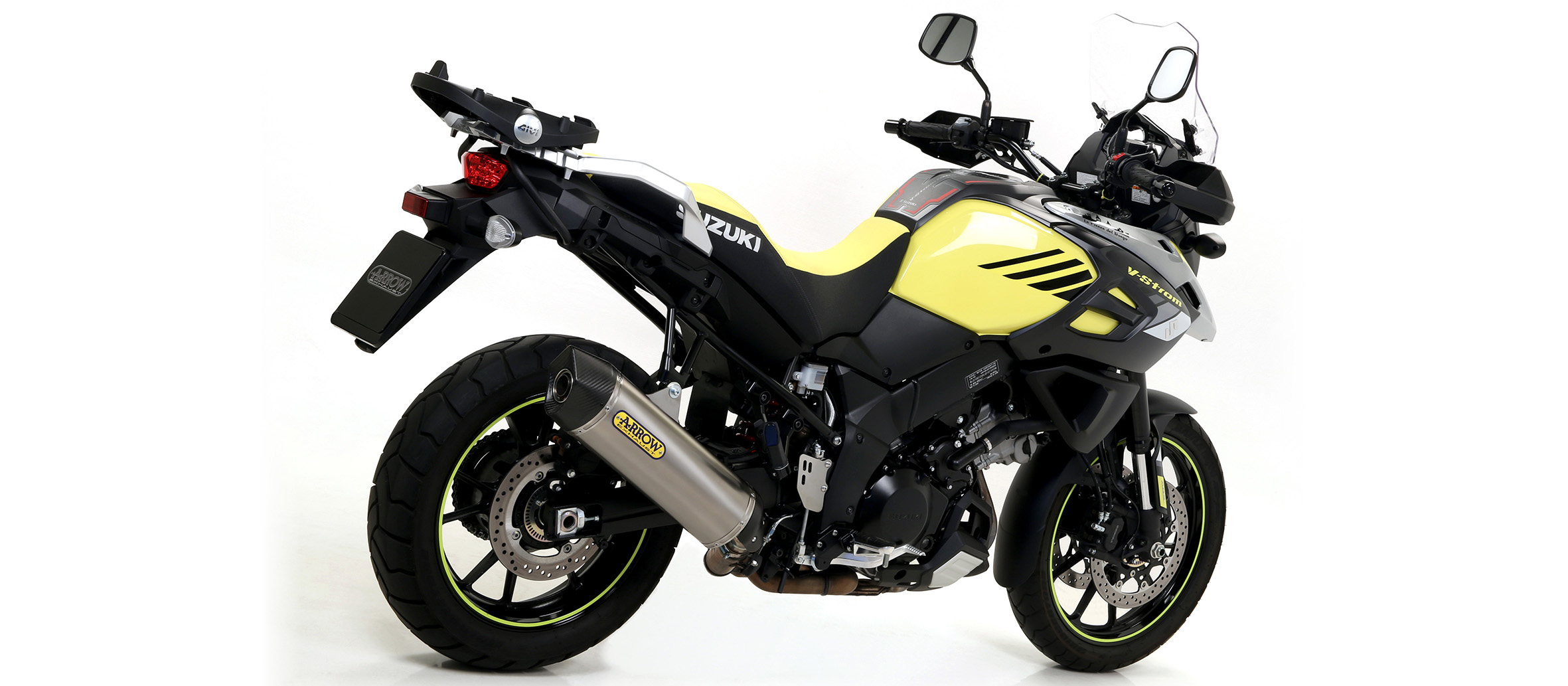 Escape Homologado Arrow Maxi Race-Tech Titanio para SUZUKI V-STROM 1000 2014>