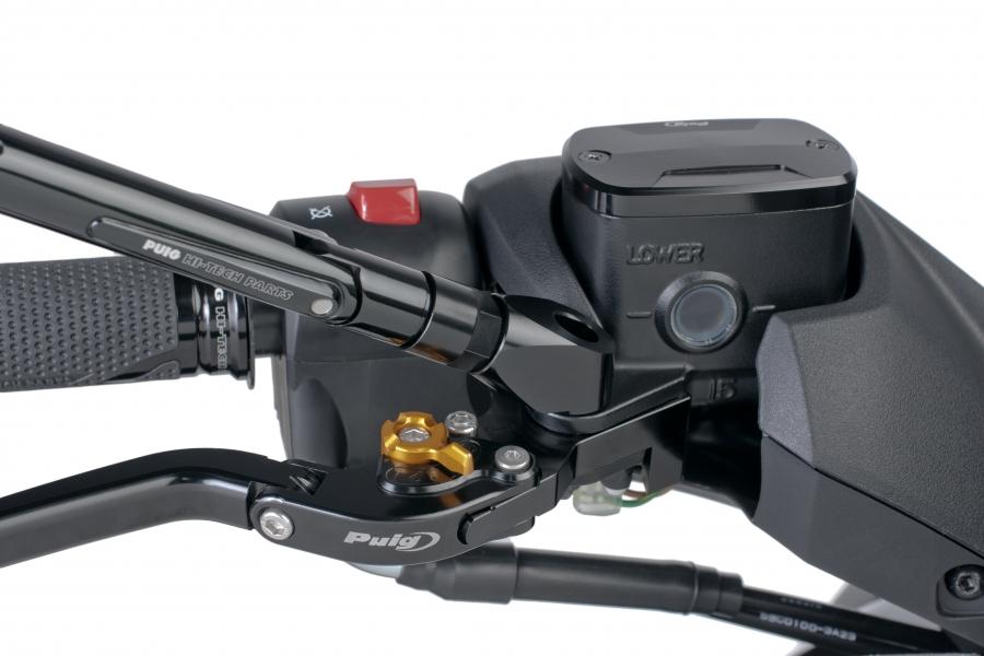 Adaptador para retrovisores Puig 7517N lado derecho e izquierdo para Yamaha T-Max 530 12-17