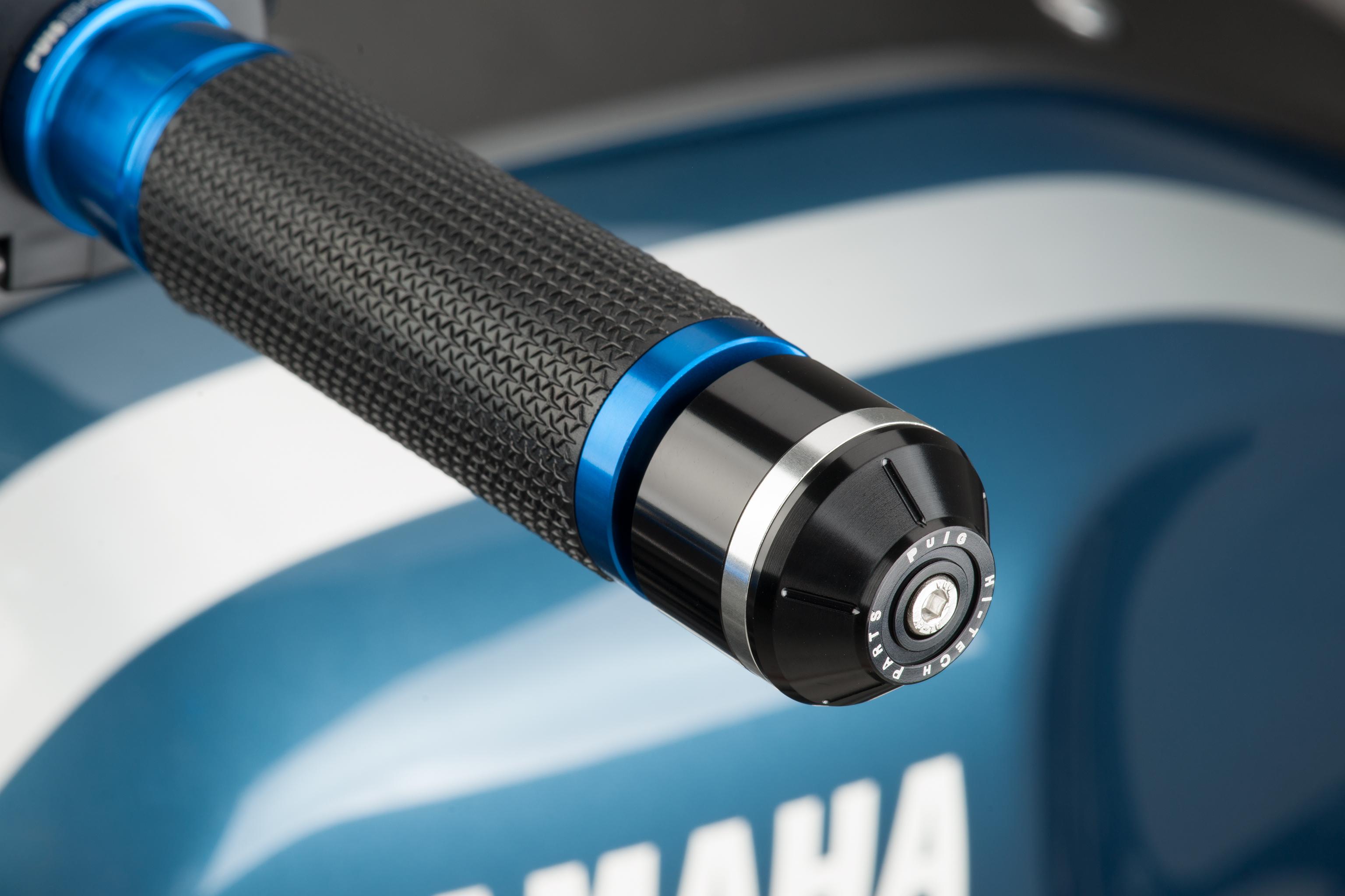Contrapesos manillar modelo corto con aro Puig 8839 para HONDA Integra 750 16-17 / NC750 S/X 16-17
