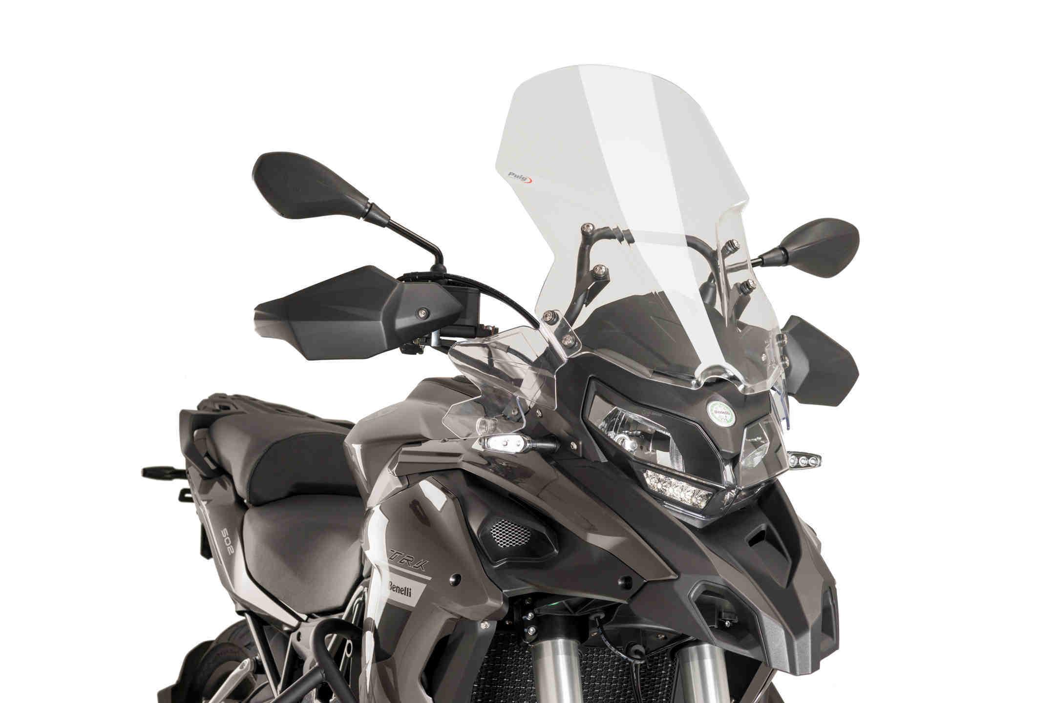 Cúpula Puig Touring para moto BENELLI TRK 502 16>