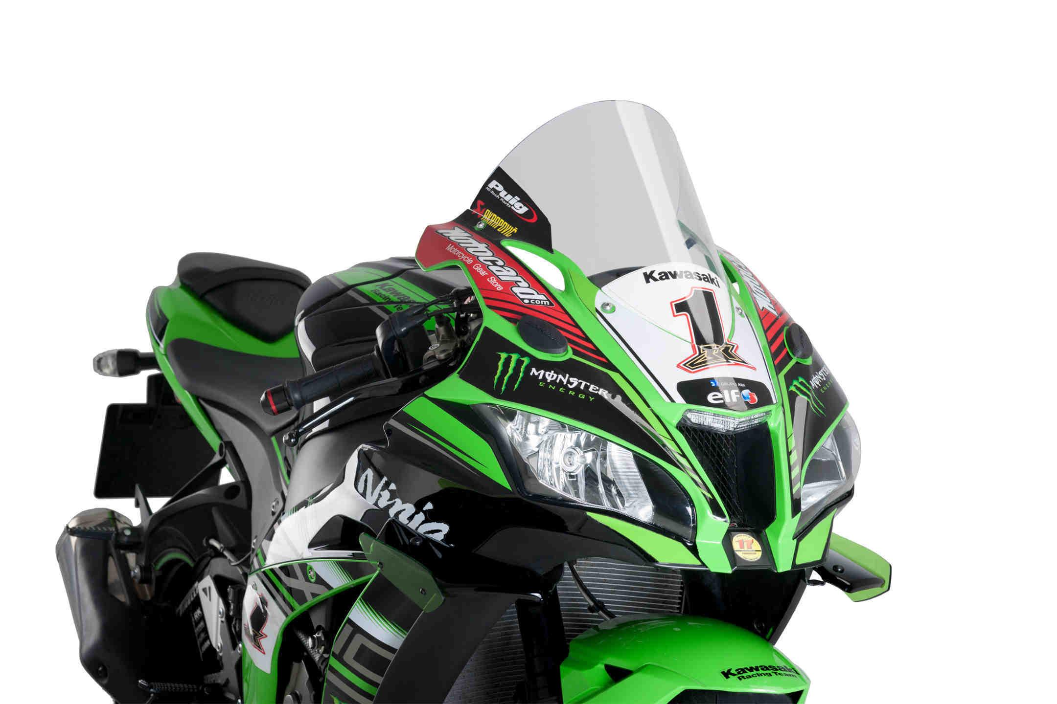 Cúpula Puig Racing para moto Kawasaki ZX10R 2016>