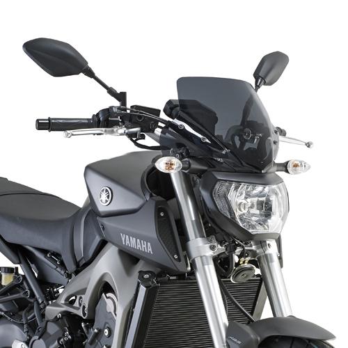 Cúpula Givi A2115 color ahumado para moto Yamaha MT 09 2013-2016