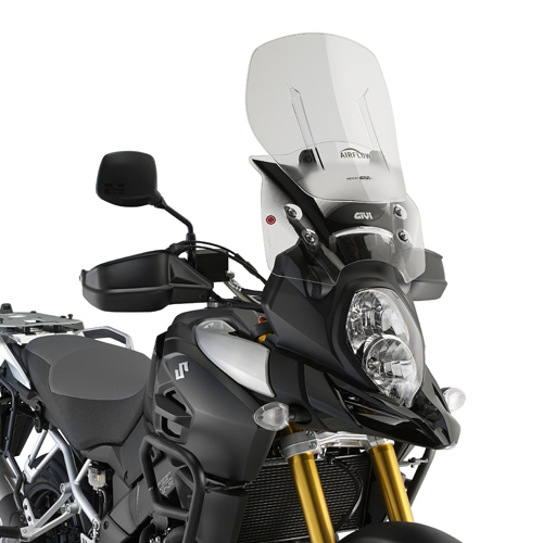 Cúpula Givi Airflow AF3105 extensible para moto Suzuki DL 1000 V-Strom 2014