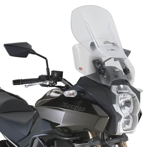 Cúpula transparente Givi Airflow AF4105 para Kawasaki Versys 1000 12-16 / Versys 650 15-16