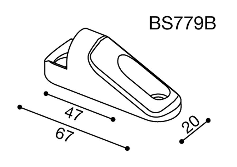 Adaptador espejo Rizoma BS779B para Kawasaki ZX300R 15> (unid.)