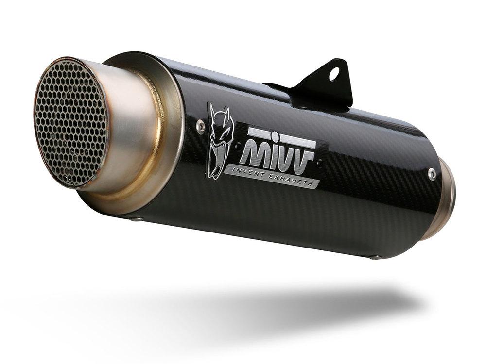 Escape Mivv GP Pro Carbono para Ducati Scrambler 800 2015>