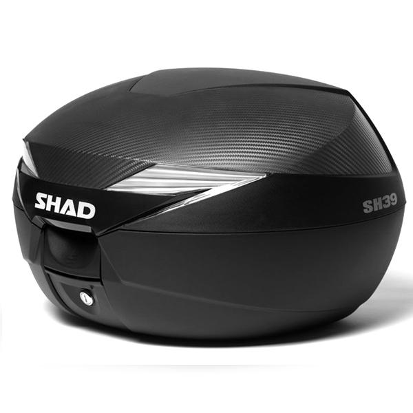 Baúl Shad SH39 Carbono con capacidad de 39 Lts.