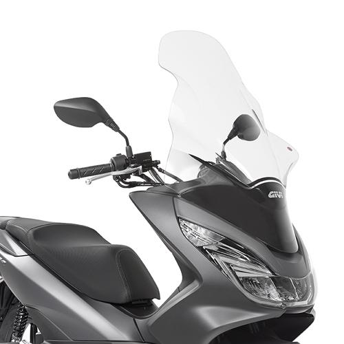 Cúpula transparente Givi D1130ST para moto Honda PCX 125 14-17 / PCX 150 14-18