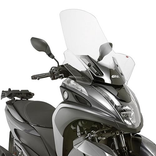 Cúpula transparente Givi 2120DT para moto Yamaha Tricity 125 2014> y MBK Tryptik 125 14>