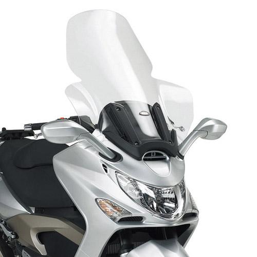 Cúpula transparente Givi D293ST para moto Kymco Xciting 250 / 300 / 500 05-09
