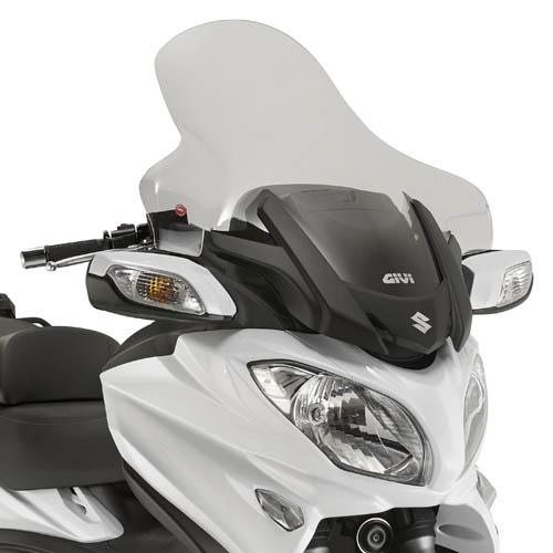 Cúpula transparente Givi D3104ST para moto Suzuki Burgman 650 / Executive 13-19