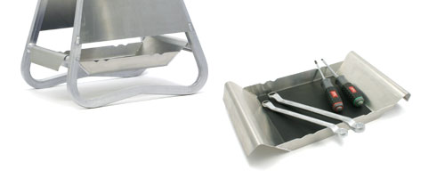 Bandeja de Aluminio Opcional Para Caballete D3631101/102