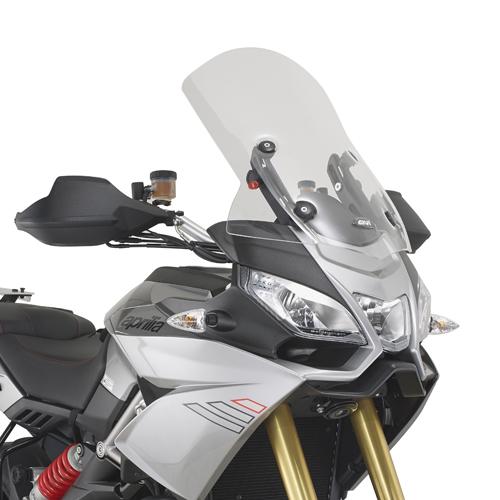 Cúpula Givi D6706ST transparente para moto Aprilia Caponord 1200 13>