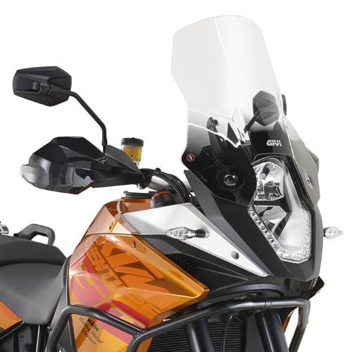 Cúpula transparente Givi D7703ST para moto KTM 1190 Adventure / Adventure R 2013> y KTM 1050 Adventure 2015