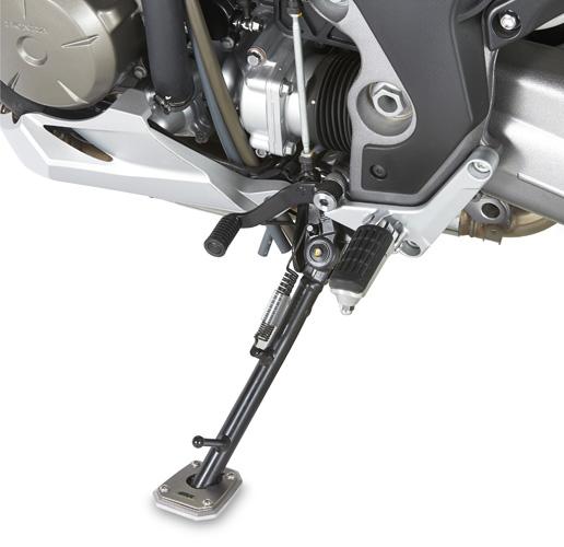 Extesible de caballete original Givi ES1110 para ampliar la superficie de apoyo para moto Honda Crosstourer 1200 2012>