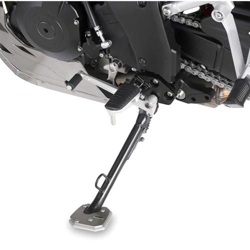 Base Givi ES3105 para agrandar el apoyo del caballete original para moto Suzuki DL 1000 V-Strom 2014>