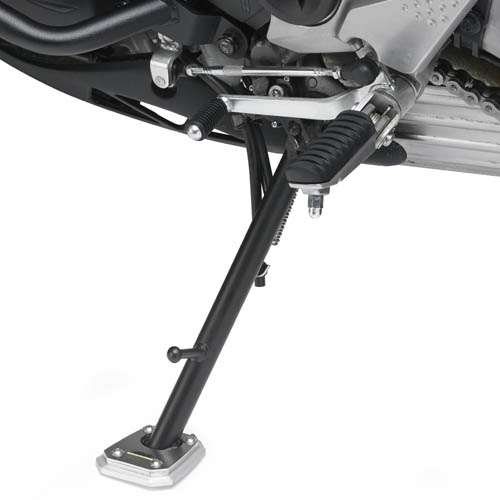 Base Givi ES4103 para agrandar el apoyo del caballete original Kawasaki Versys 650 10-20