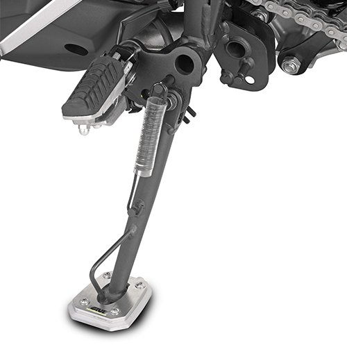 Base Givi para agrandar la base del apoyo original Kawasaki Versys 1000 2017